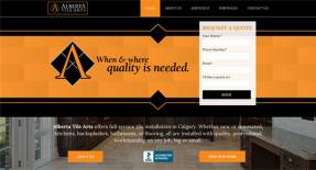 Calgary Web Design - Alberta Tile Arts