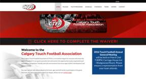 Calgary Web Design - Calgary Touch Football