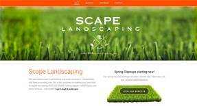 Calgary Web Design - Scape Landscaping