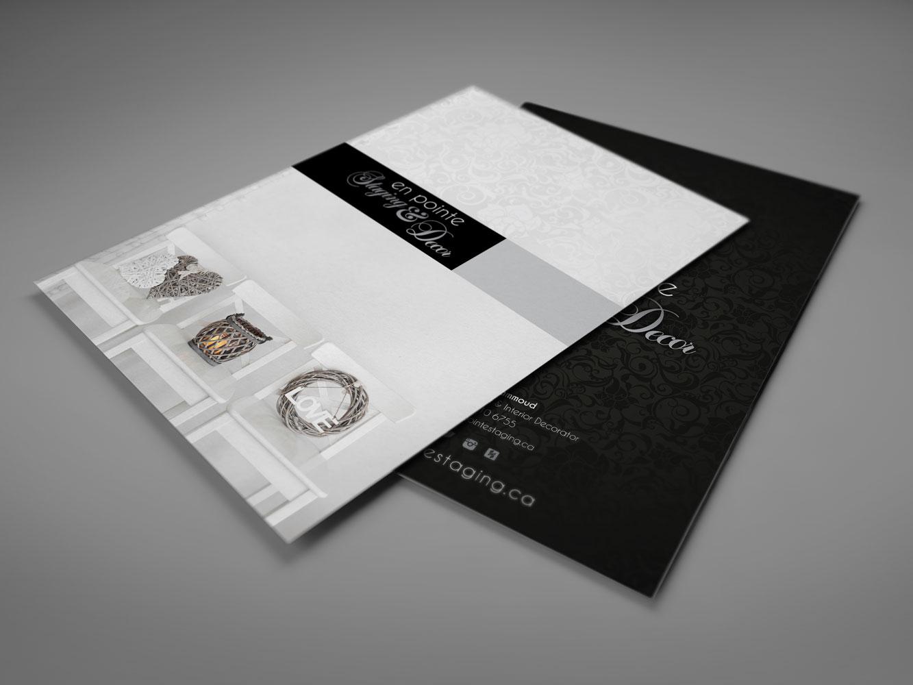 bifold brochure design calgary