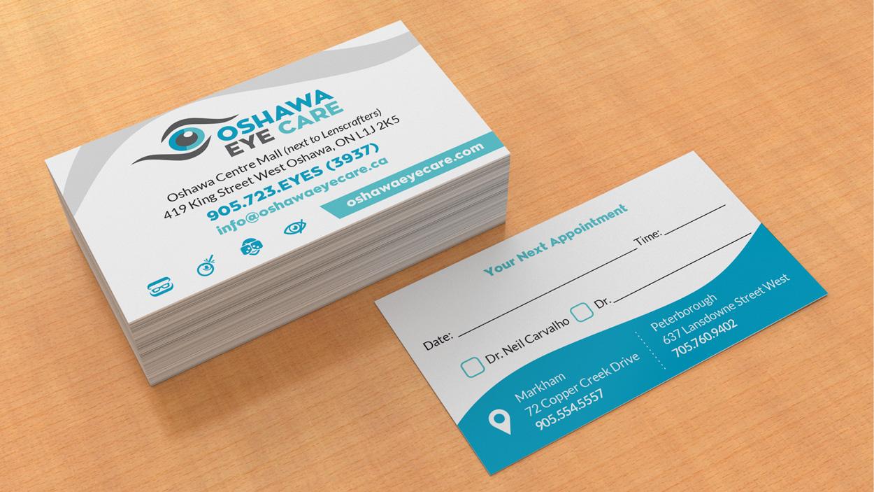 Business cards oshawa eyecare outsidesign business cards oshawa eyecare colourmoves